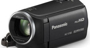 PANASONIC HC-V160EG: videocamera camcorder per video in Full HD